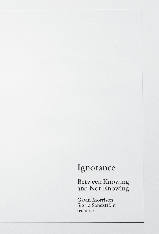 Thumbnail for Ignorance